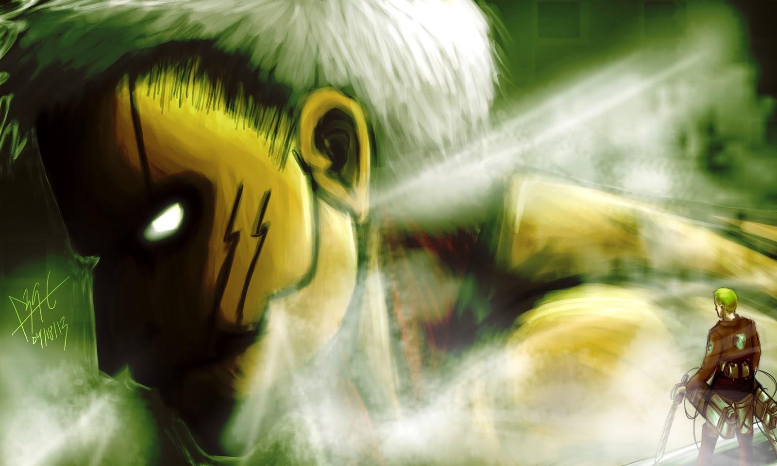 Reiner Braun Attack on Titan angry anime boy wallpaper Attack