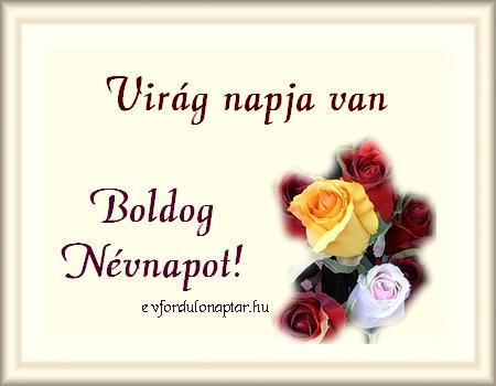 November 26 - Virág névnap