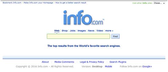 mesin pencarian terpopuler