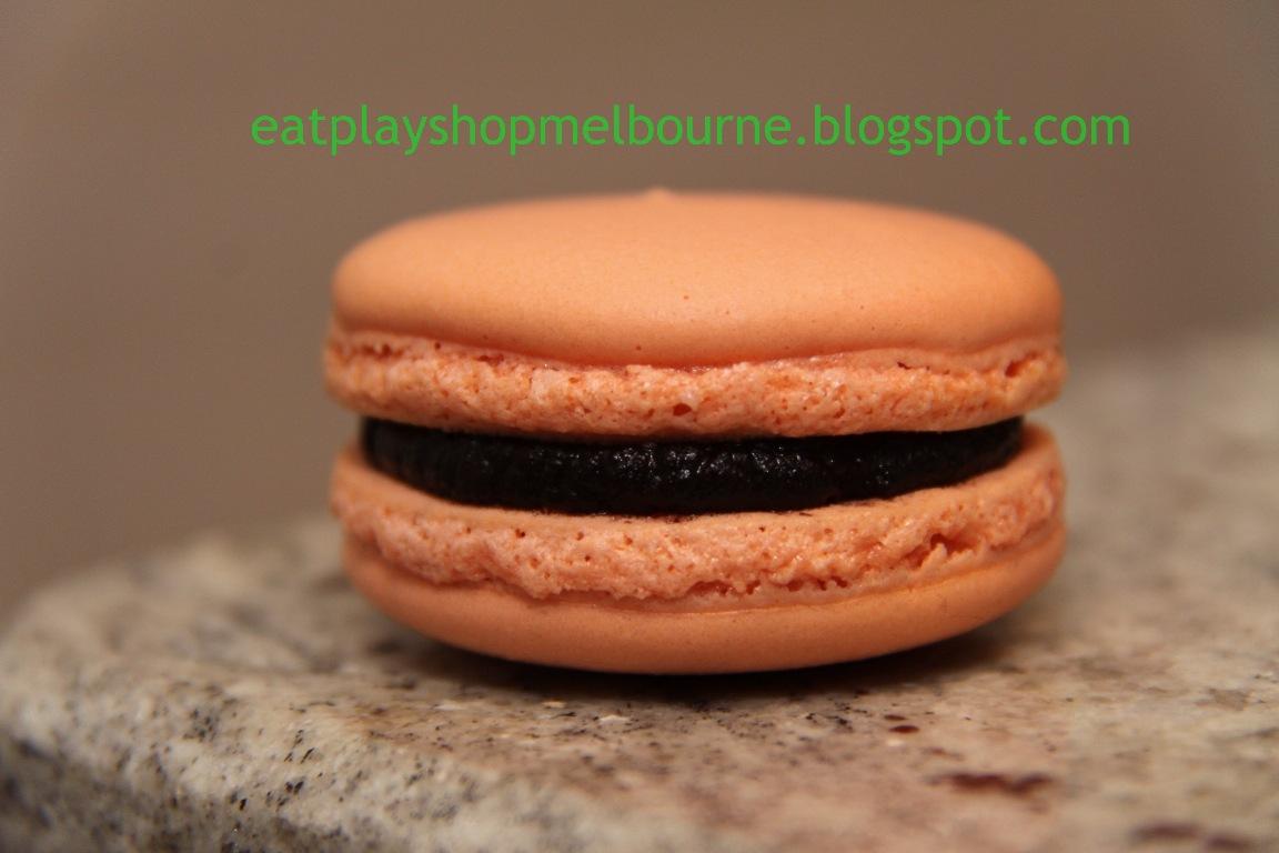 Eat. Play. Shop.: Batch #2 - Chocolate Orange Ganache Macarons