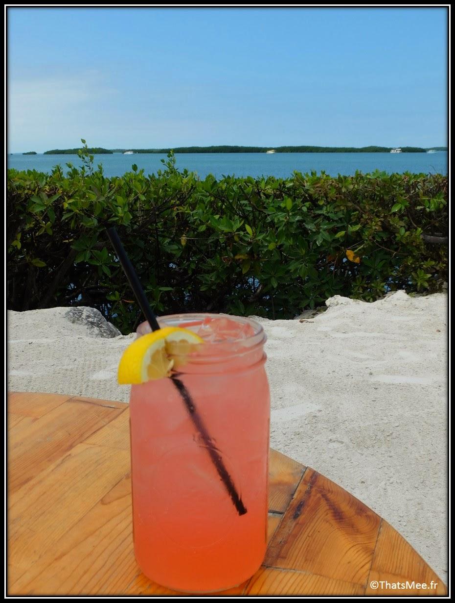 Ma lemonade Morada Bay Café Islamorada The Keys Florida