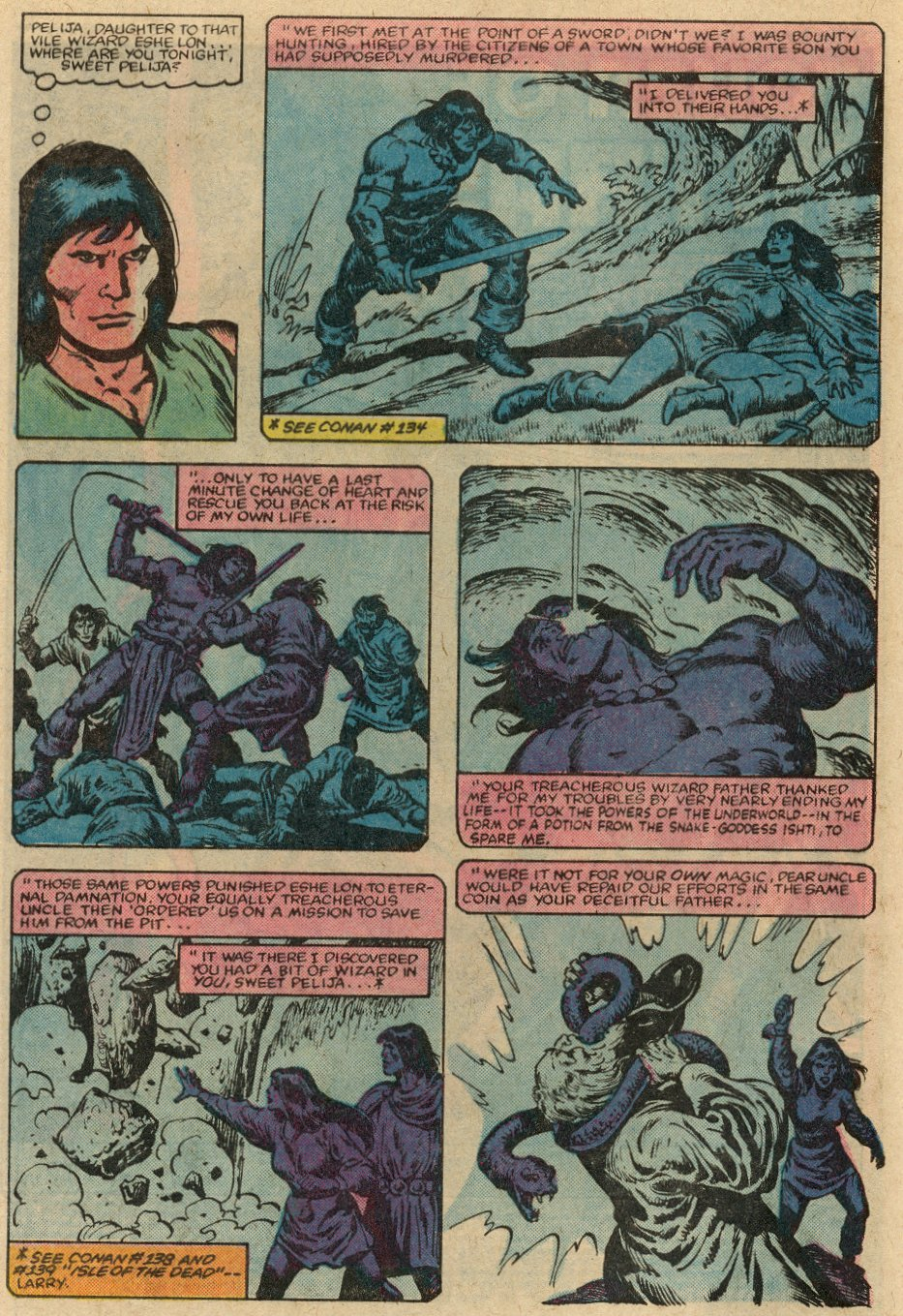 Conan the Barbarian (1970) Issue #147 #159 - English 5