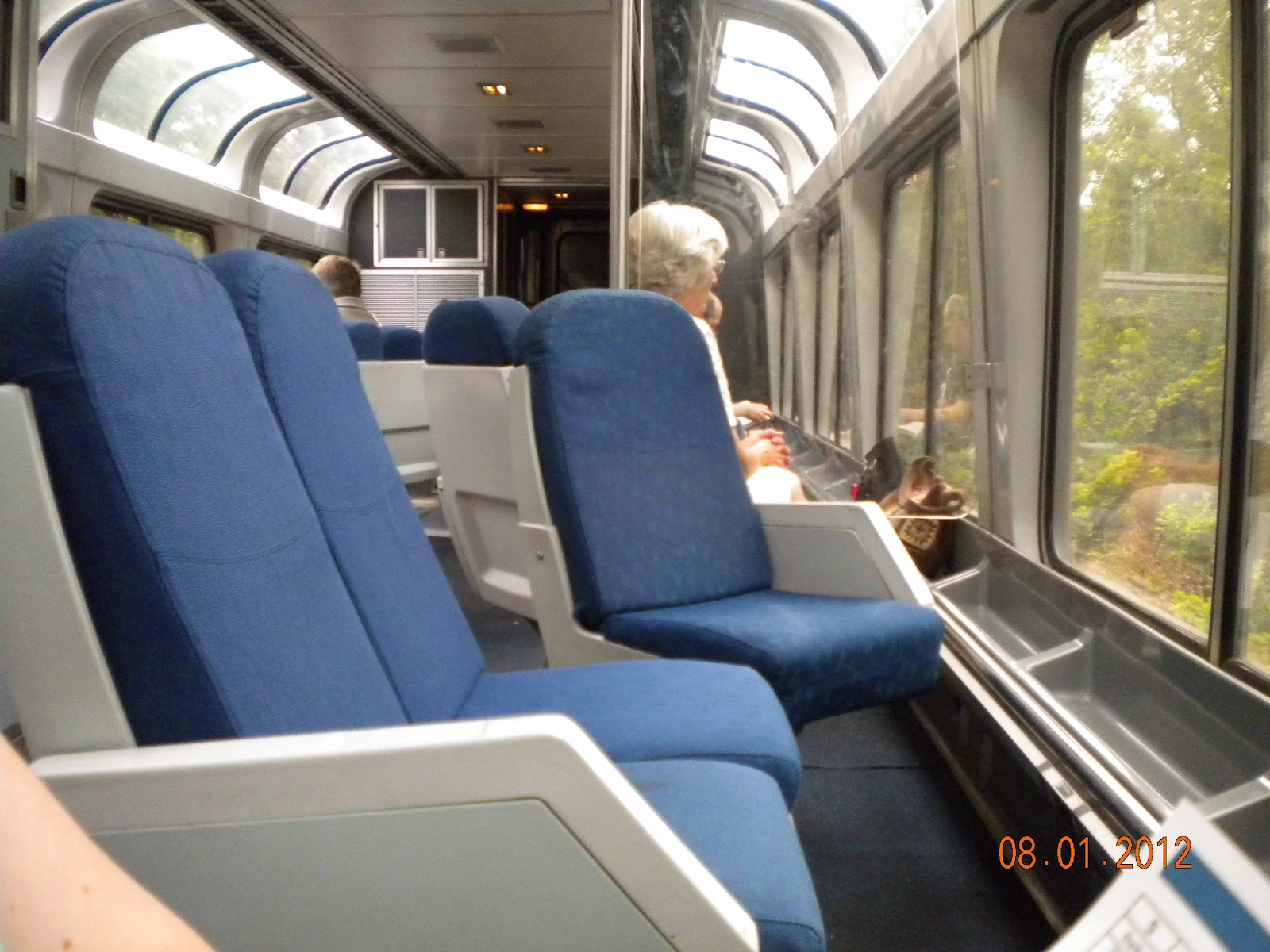 Jex Reviews California Zephyr Amtrack Superliner