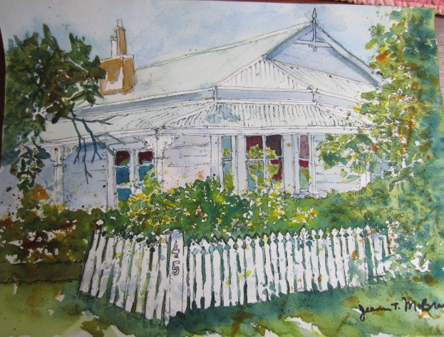 All Things Quilty And Artsy Two New Watercolor Paintings