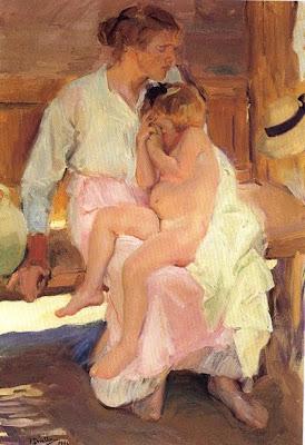 Mare i filla (Joaquim Sorolla)