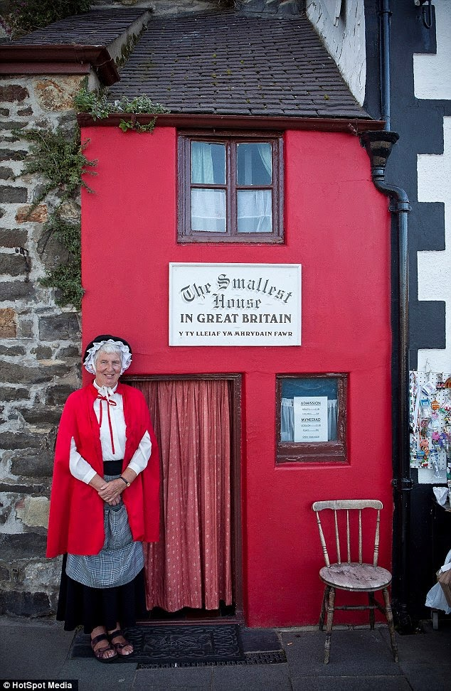 Smallest House In The World 2012 miserable old fart