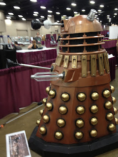 Fully functional Dalek at Worldcon 2013
