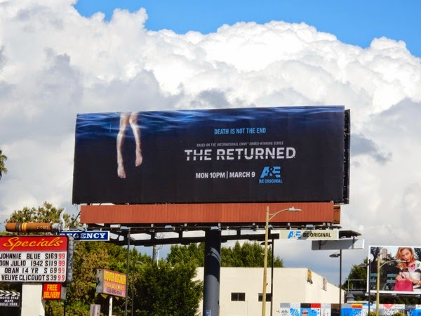 The Returned series premiere billboard