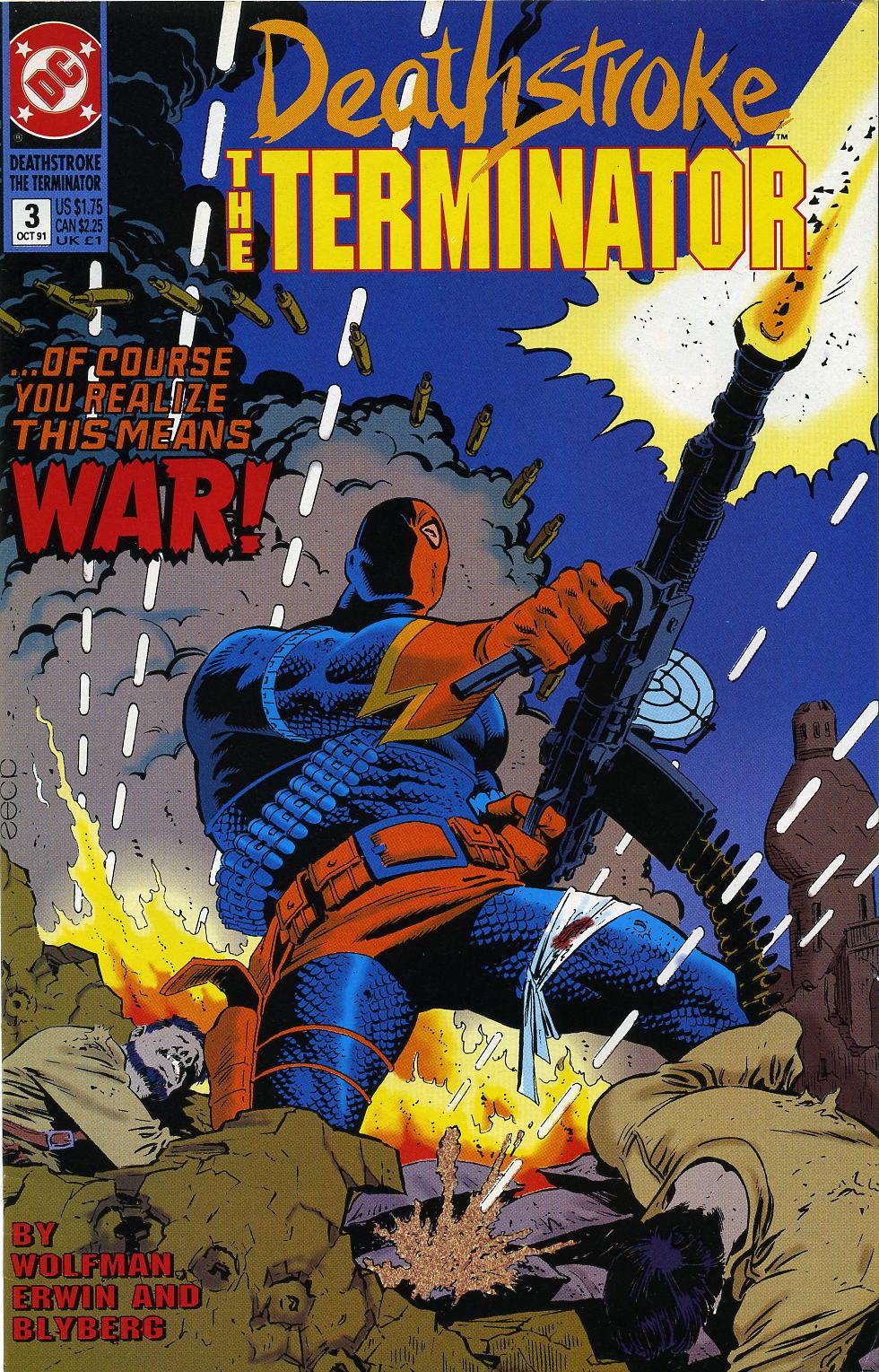 Deathstroke (1991) Issue #3 #8 - English 1