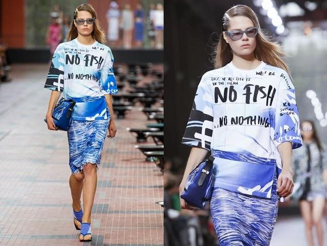 Kenzo SS 2014 No Fish No Nothing T-Shirt