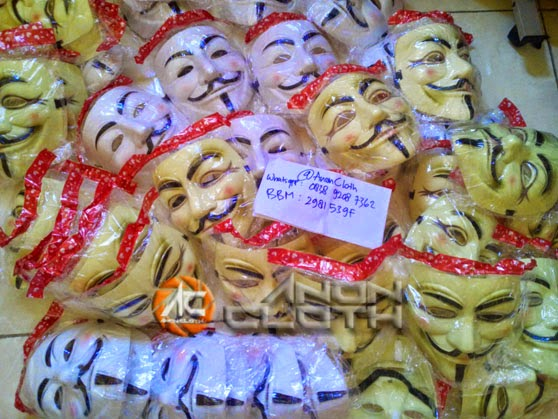 Jual Topeng Anonymous Murah Tangerang