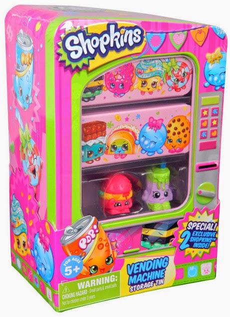 TOYS : JUGUETES - SHOPKINS - La vending machine  Producto Oficial |Giochi Preziosi 56011 | A partir de 5 años