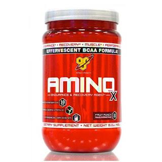 BCAA aminosyror amino X
