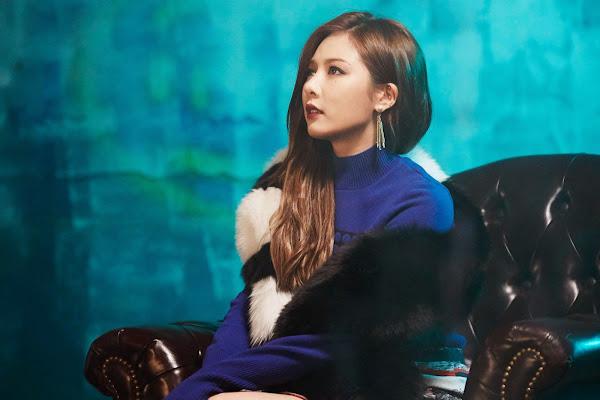 4minute Cold Rain Concept Hyuna