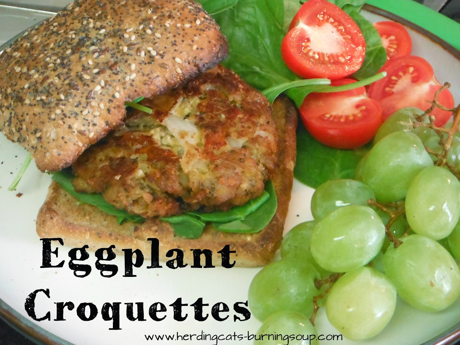 Tasty Delights-- Eggplant Croquettes