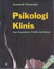 toko buku rahma: buku PSIKOLOGI KLINIS, pengarang andrew m. pomerantz, penerbit pustaka pelajar