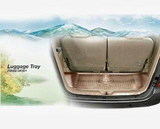 innova luggage tray