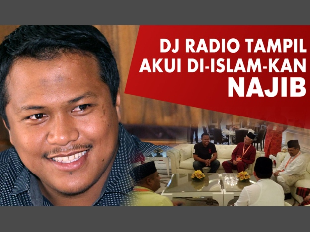 Juruhebah Radio Tak Sangka Di Islamkan Najib Razak