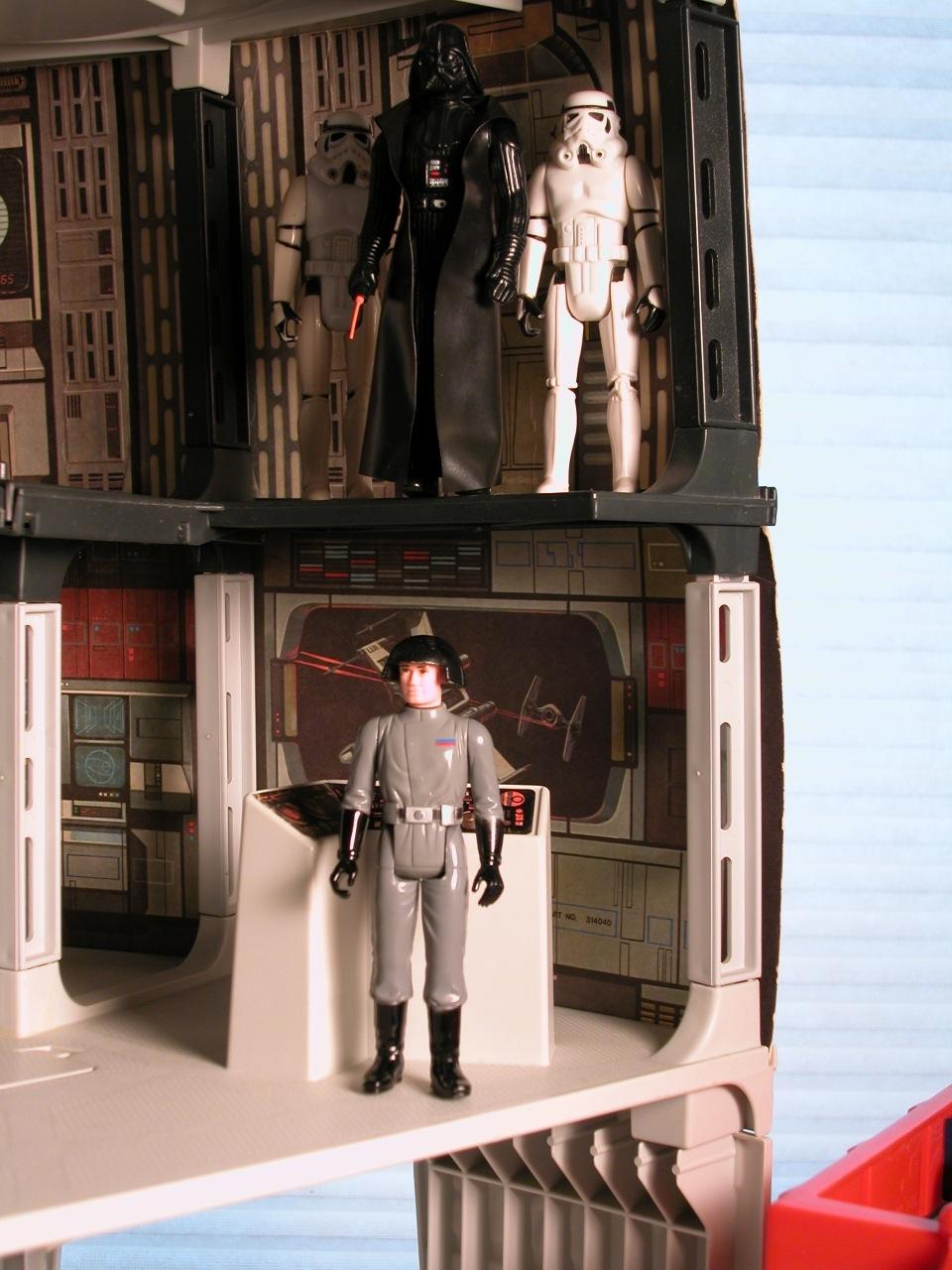"NICE 2/"" Second Floor Trap DOOR PART Death Star 1978 Playset Vintage Wars"