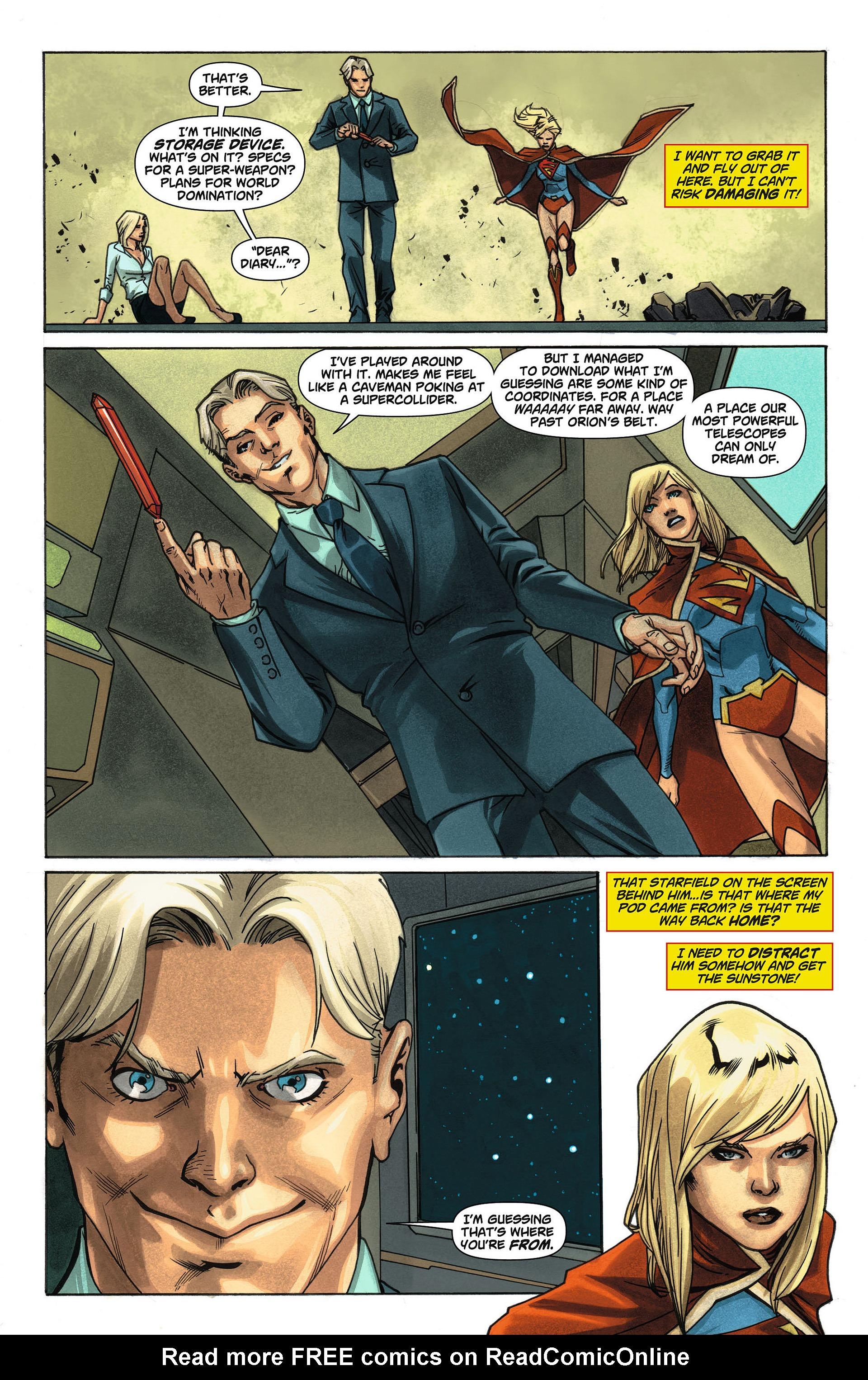 Supergirl (2011) Issue #4 #6 - English 14