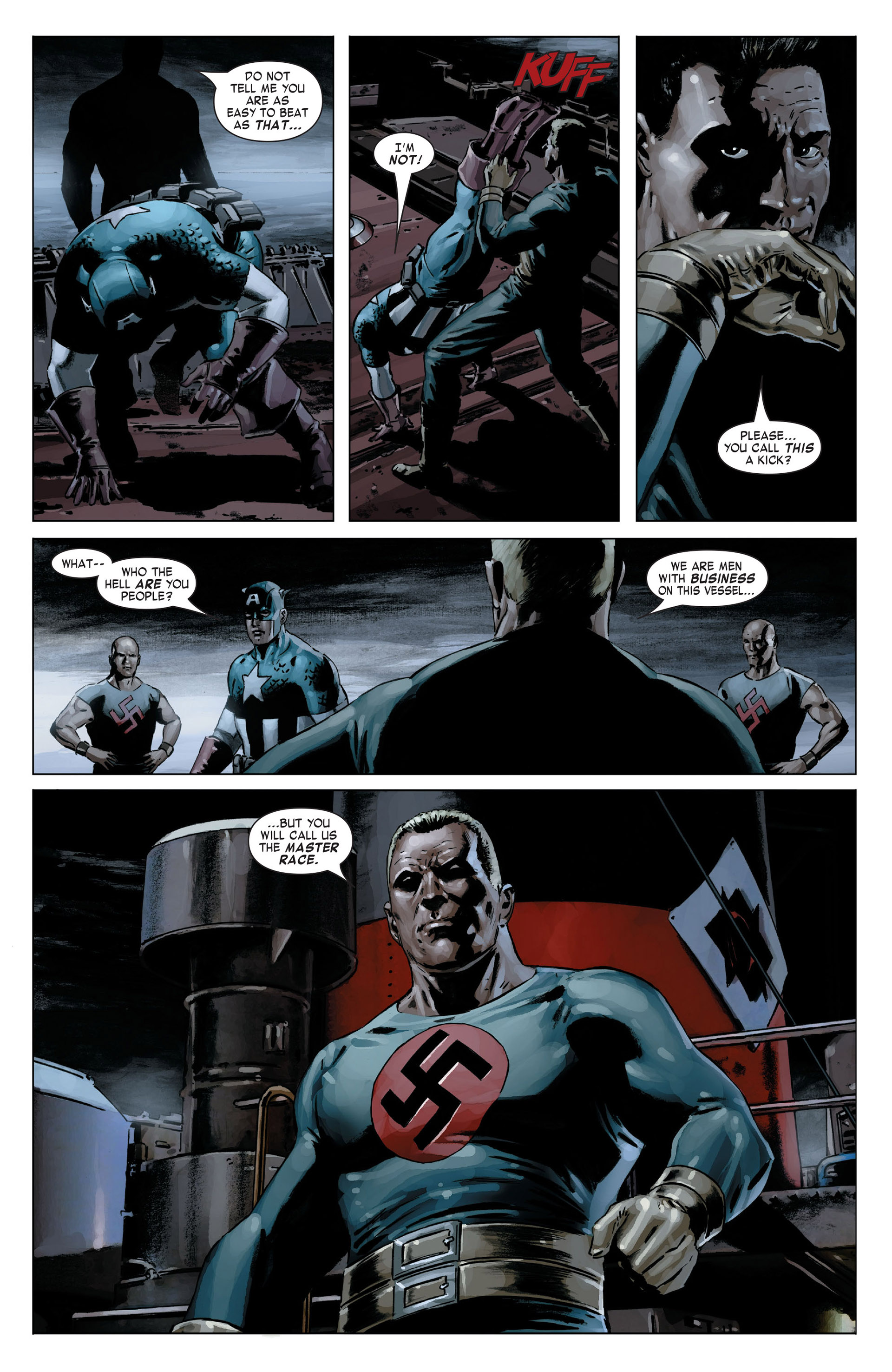 Captain America (2005) Issue #18 #18 - English 23