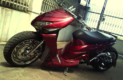 vario modifikasi lowrider