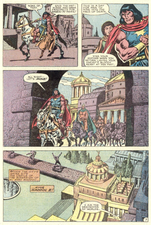 Conan the Barbarian (1970) Issue #182 #194 - English 8