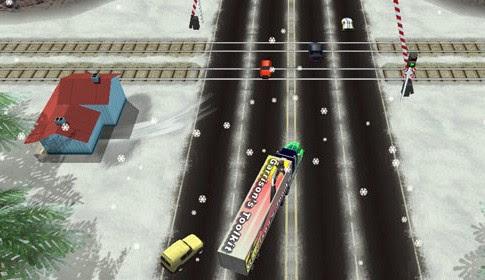 لعبة قيادة الشاحنات الكبيرة العملاقة  Mad Trucker اون لاين