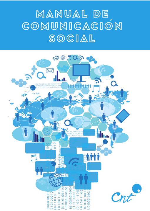 Portada Manual de Comunicación Social CNT