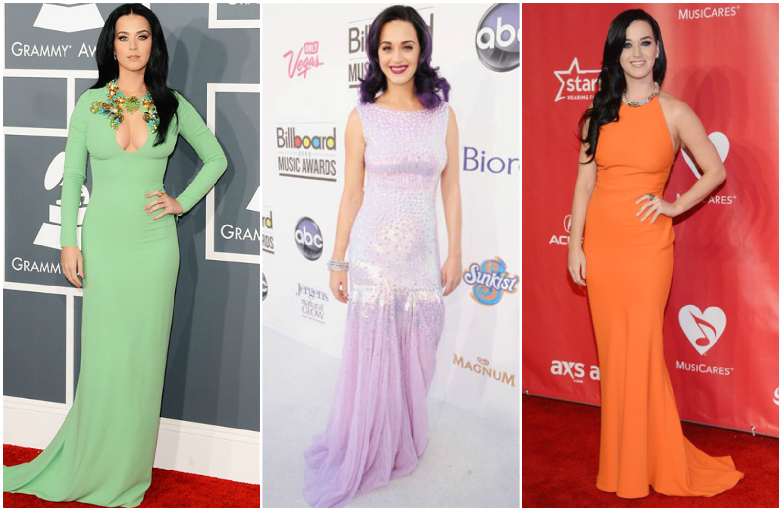 the gallery for gt katy perry outfits blue hair
