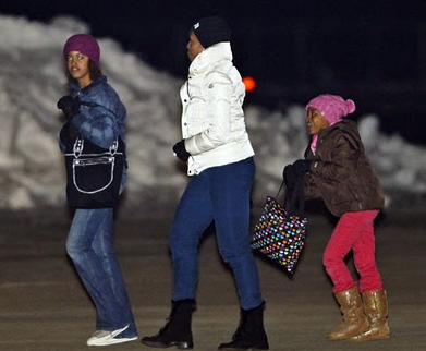 pictures of michelle obama in vail. First Lady Michelle Obama,