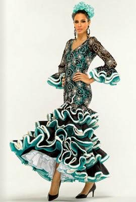 moda flamenca El Corte Inglés traje flamenca de encaje