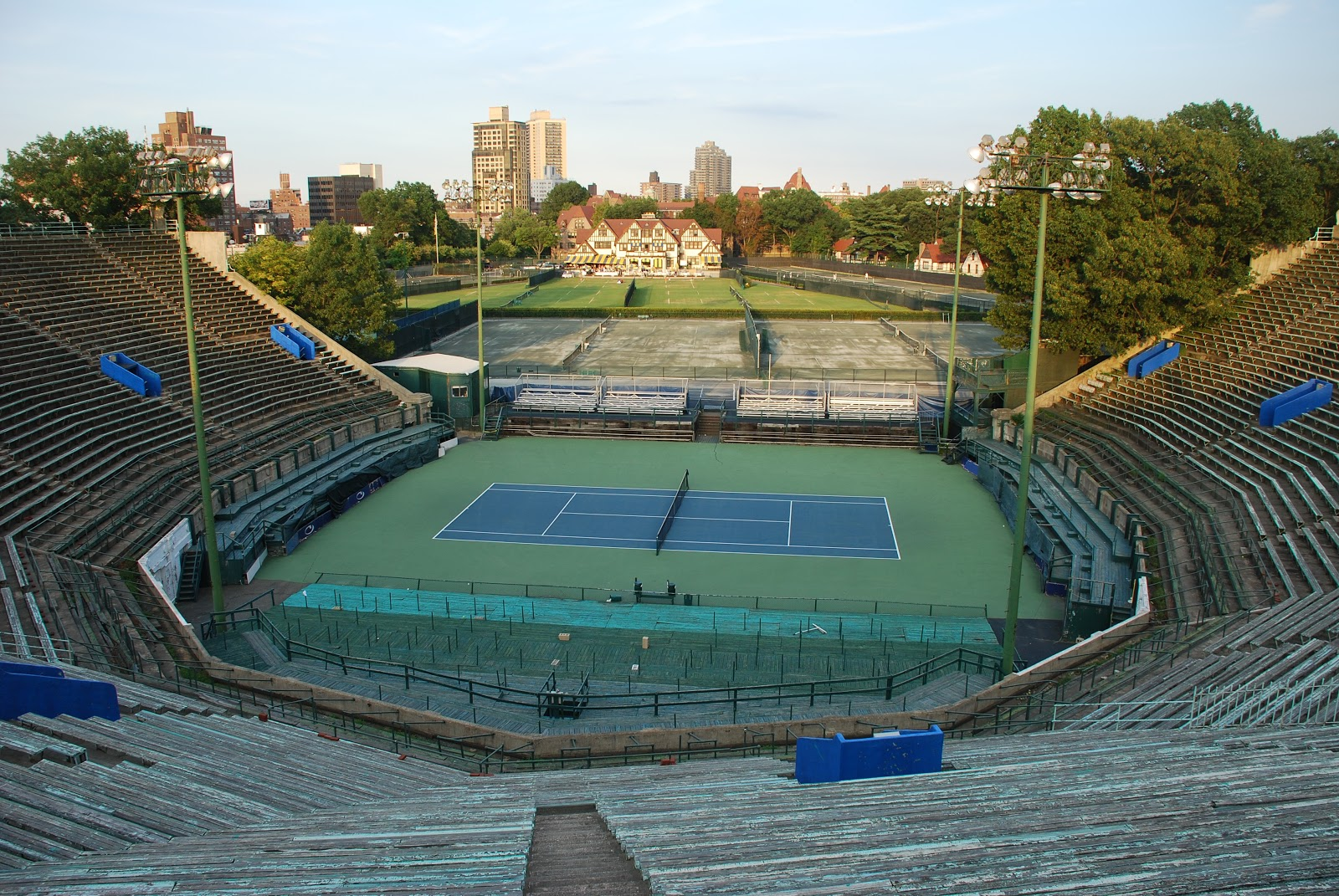 Image result for FOREST HILLS STADIUM WINTER