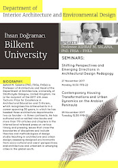 Invited Guest Professor at Bilkent University, Ankara, Turkey