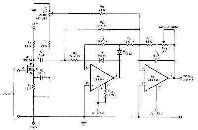 Ac to DC Converter Circuit Diagram