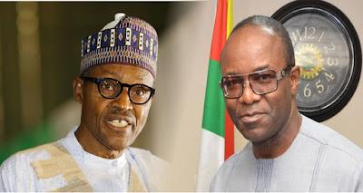 President Buhari and Ibe Kachikwu