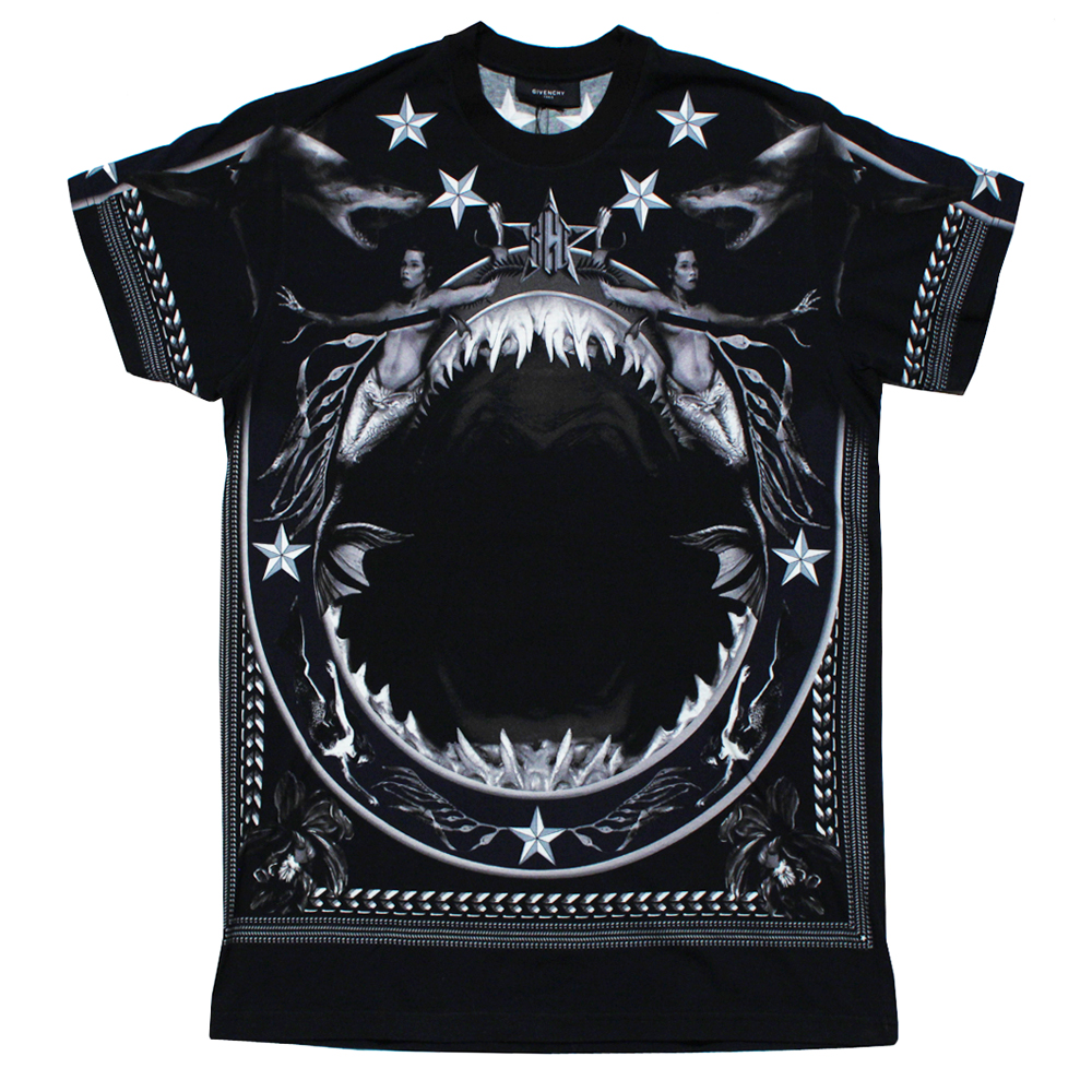 buyers beware fake givenchy shark and mermaid t shirt second kulture. Black Bedroom Furniture Sets. Home Design Ideas