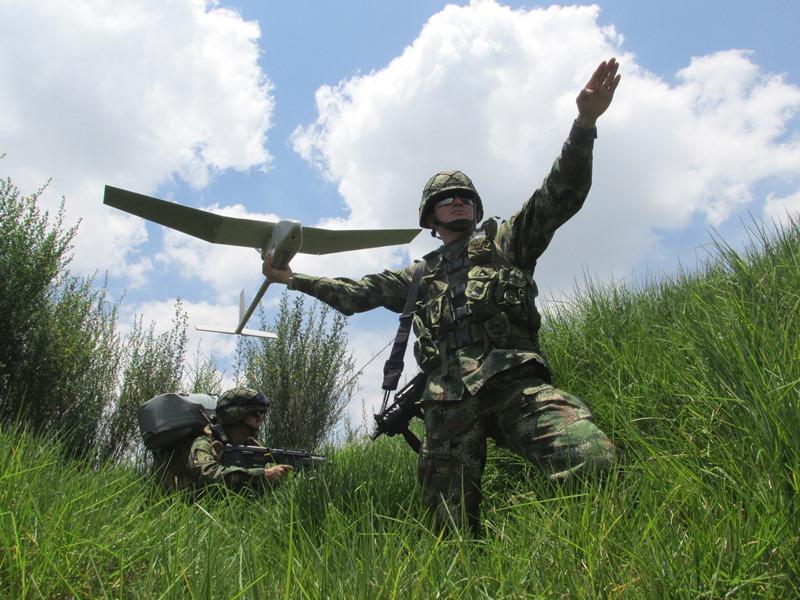 RQ-11B Raven, Sistema Aéreo No Tripulado para Maniobra Terrestre del Ejército Colombiano.