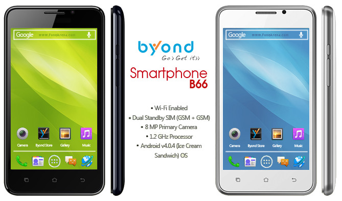 Byond B66 dual SIM smart phone