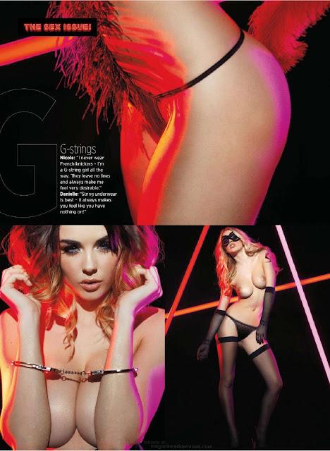 Danielle Sharp & Nicole Neal – Nuts Magazine (January 2013)