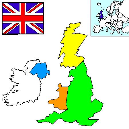 news tourism world: Carte de La Royaume Uni images