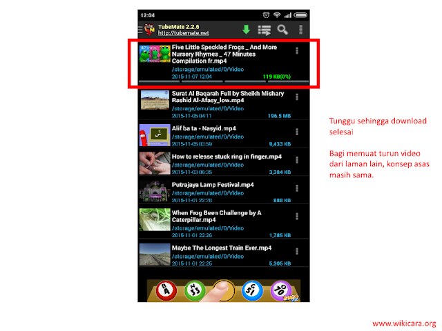 Cara Memuat turun Video Menggunakan Telefon Pintar Android