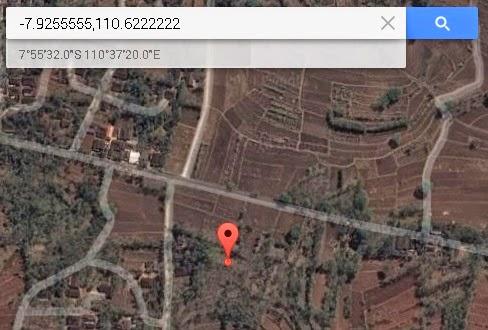 Koordinat Lokasi Desa Wisata Bejiharjo