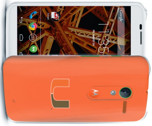 Image of Motorola Moto X University of Miami design