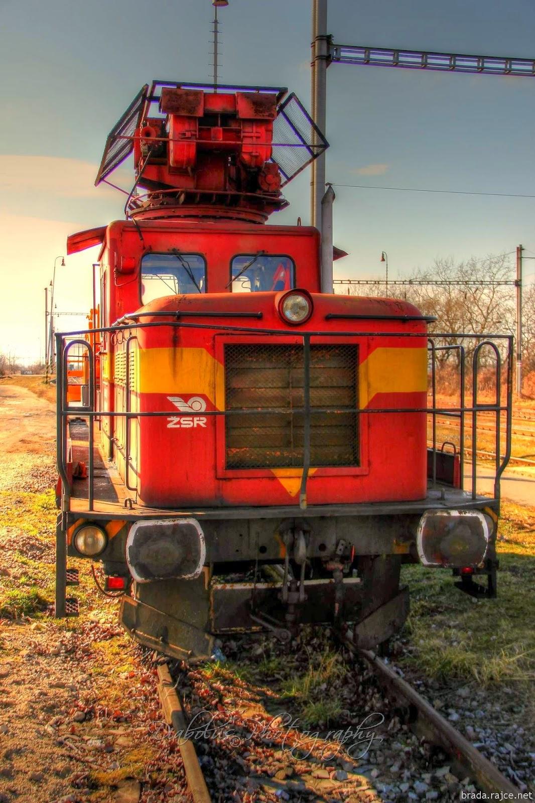 Servisní lokomotiva