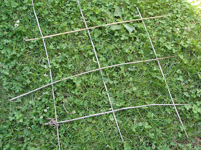 building a trellis for cucumbers