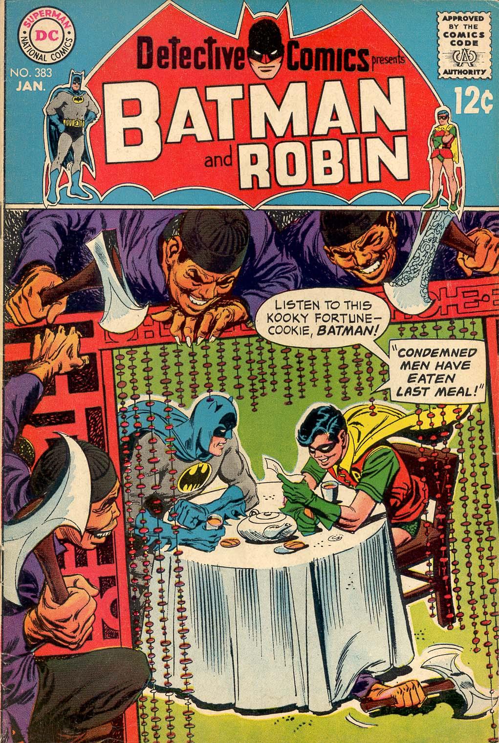 Detective Comics (1937) 383 Page 1