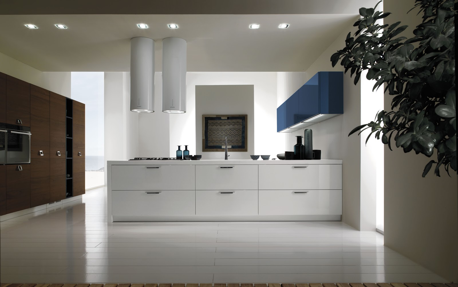 My modern eco friendly kitchen cabinets italian style for Italian kitchen cabinets