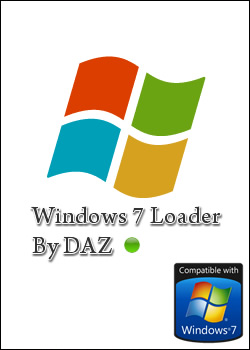 Capa Ativar Validar Windows 7 Loader v2.2 x86 x64 dazbox