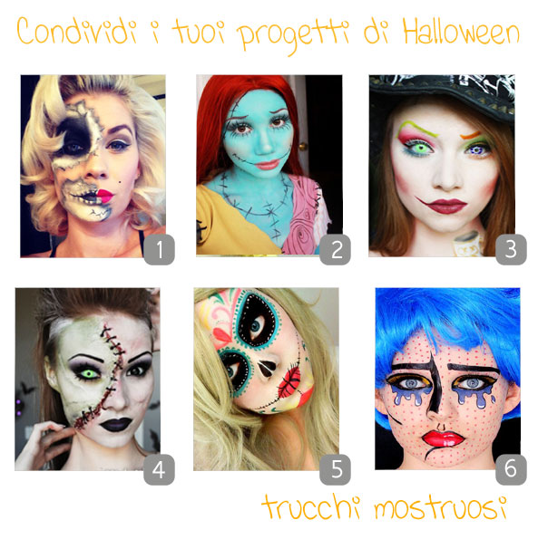 make up per halloween